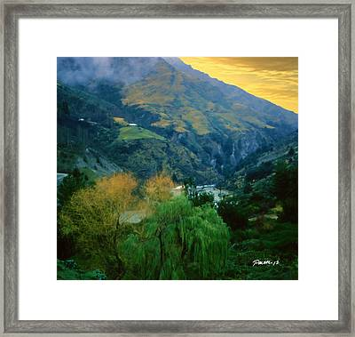 New Zealand Series - Arthur's Pass Framed Print by Jim Pavelle