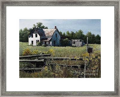 Newboro Farmhouse Framed Print