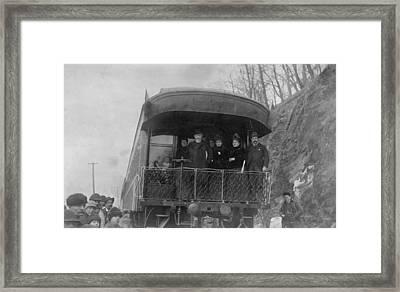 Newly Elect President Benjamin Harrison Framed Print by Everett