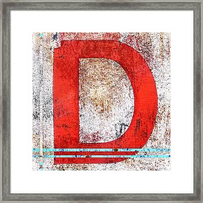 Newport D Framed Print