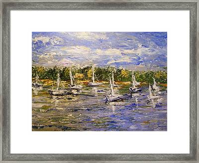 Newport Views Framed Print