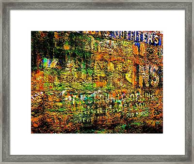 News Of The Day Framed Print by Helen Carson