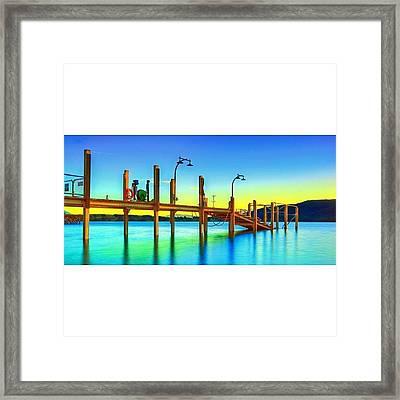 #newzealand #nz #au_nz_hotshots #bridge Framed Print