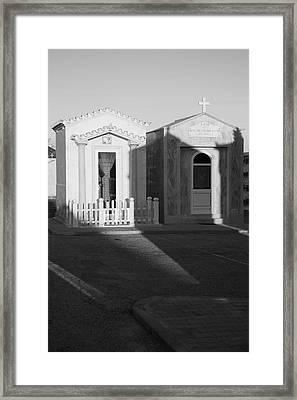 Next Life Homes Framed Print by Jez C Self