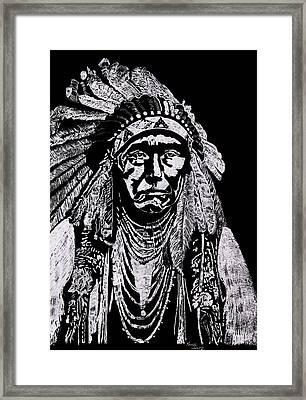 Nez Perce Framed Print by Jim Ross