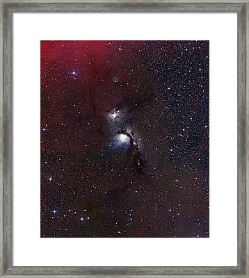 Ngc 2068 Reflection Nebula Framed Print by Mpia-hd, Birkle, Slawik