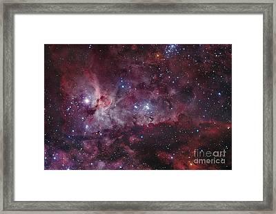 Ngc 3372, The Eta Carinae Nebula Framed Print by Robert Gendler