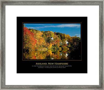 Nh Foilage Framed Print by Jim McDonald Photography