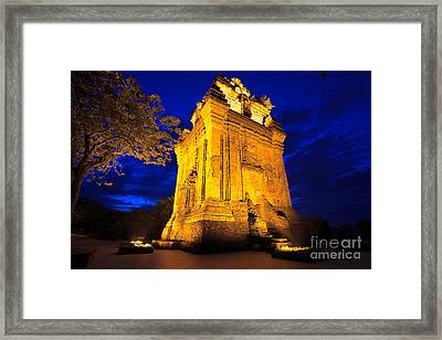 Nhan Tower.  Framed Print