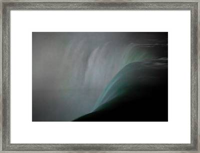 Niagara - Thundering Water Framed Print by Michael Braxenthaler