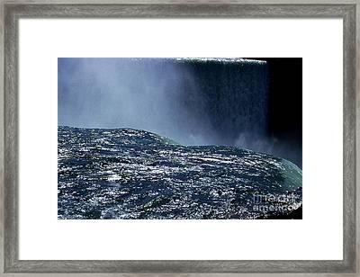 Niagara Framed Print by Barry Shaffer