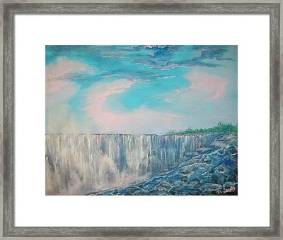 Niagara Falls Framed Print by Raymond Doward