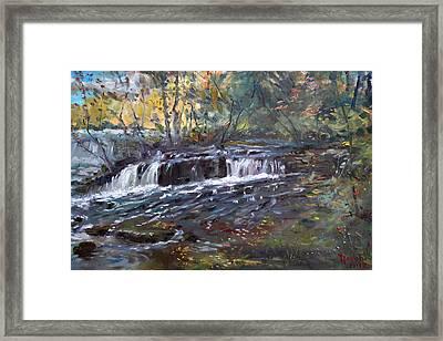 Niagara Falls River Framed Print