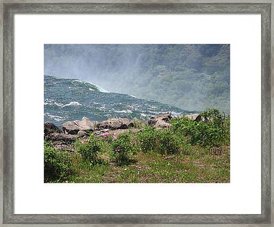 Niagara Falls Wonder Of The World Framed Print by J R Baldini M Photog
