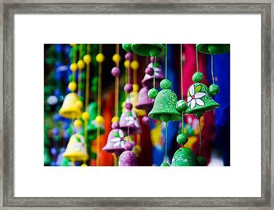 Nicaraguan Bells Framed Print by William Shevchuk