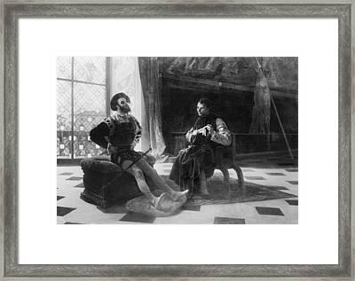 Niccol� Machiavelli 1469-1527 In An Framed Print by Everett