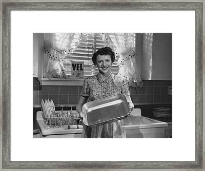 Nice And Clean Framed Print by Hulton Collection