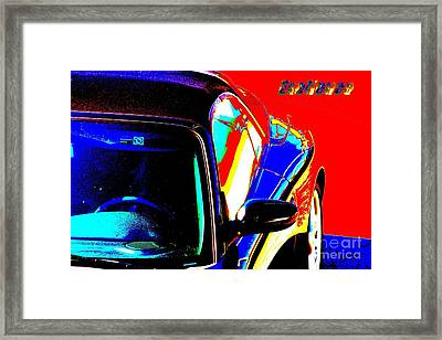 Nice Car Framed Print by Rogerio Mariani