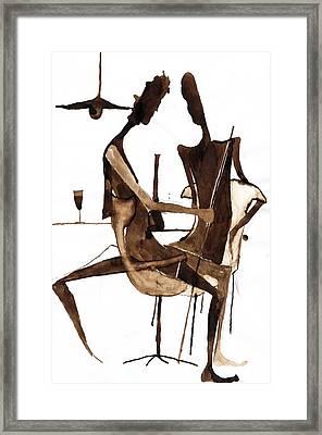 Nice Evening Framed Print by Maya Manolova