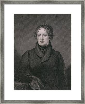 Nicholas Biddle 1786-1844 Was Appointed Framed Print