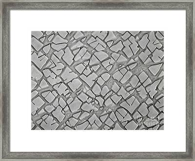Nickel Alloy Framed Print by Omikron