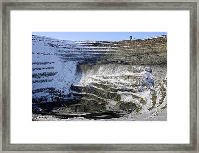 Nickel Quarry Framed Print by Ria Novosti