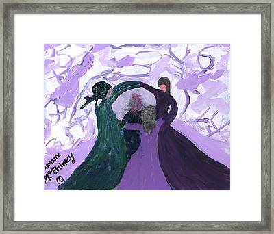 Nicki's Support Circle Framed Print by Annette McElhiney