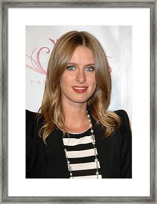 Nicky Hilton At A Public Appearance Framed Print by Everett