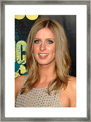 Nicky Hilton At Arrivals For Kick-ass Framed Print by Everett