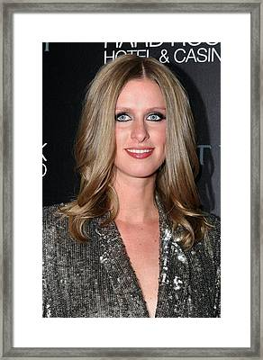 Nicky Hilton At Arrivals For Nicky Framed Print by Everett