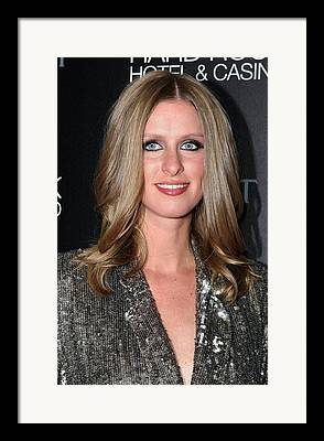 Nicky Hilton Framed Prints