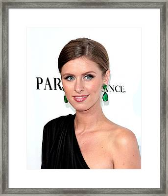 Nicky Hilton At Arrivals For Paris, Not Framed Print by Everett