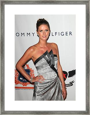 Nicky Hilton At Arrivals For The 18th Framed Print by Everett