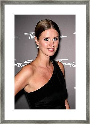 Nicky Hilton In Attendance For Thomas Framed Print by Everett