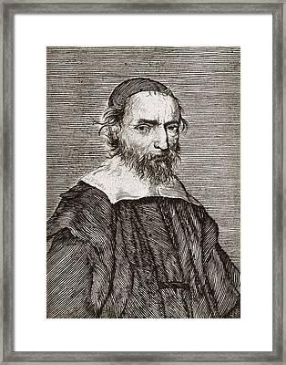 Nicolas Fabri De Peiresc, Astronomer Framed Print by Middle Temple Library