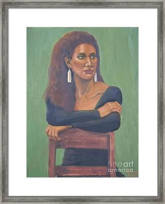 Nicole Framed Print by Bruce Lum