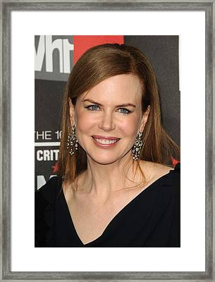 Nicole Kidman At Arrivals For 16th Framed Print by Everett