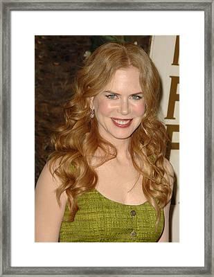 Nicole Kidman In Attendance For 2010 Framed Print by Everett