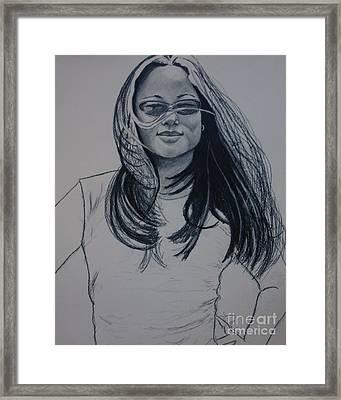 Nicole Framed Print