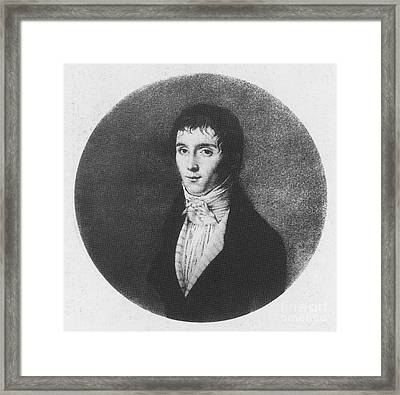 Nic�phore Ni�pce, French Inventor Framed Print by Photo Researchers