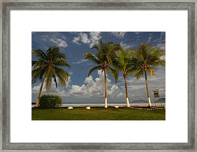 Night At The Beach 7630 Framed Print by Sortarivs Arts