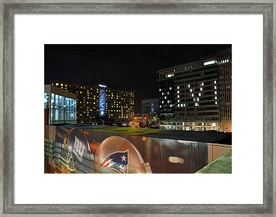 Night Before Super Bowl Xlvi Framed Print by Brittany H