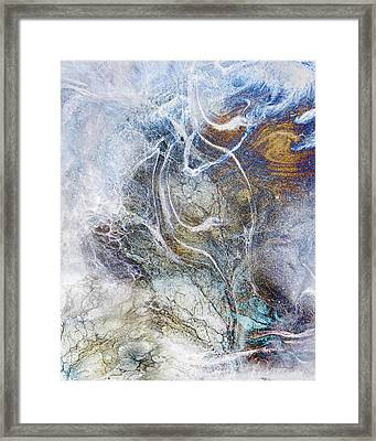 Night Blizzard Framed Print by Francesa Miller