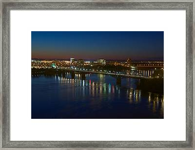 Night Bridges Framed Print