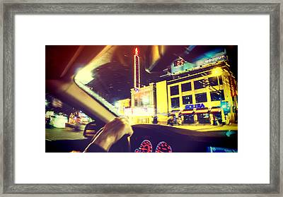 Night Driver Framed Print by Susan Stone