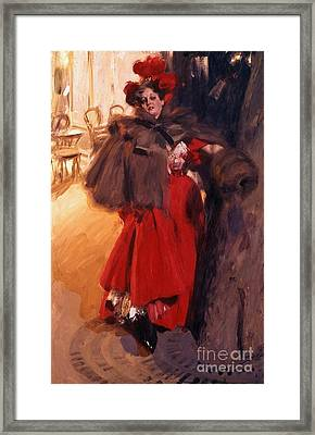 Night Effect Framed Print by Pg Reproductions