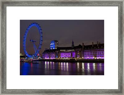 Night Eye Framed Print by Kevin Bates