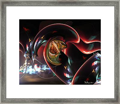 Night Fever Framed Print