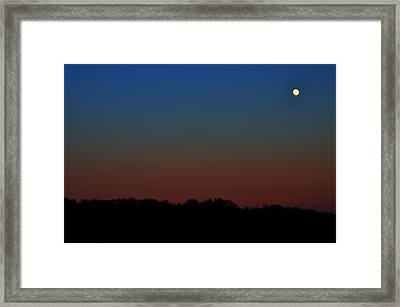 Framed Print featuring the photograph Night Light by Brian Stevens