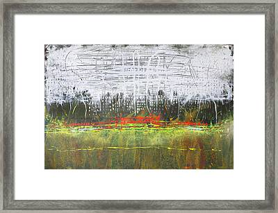 Night Light In The City Framed Print by Lolita Bronzini